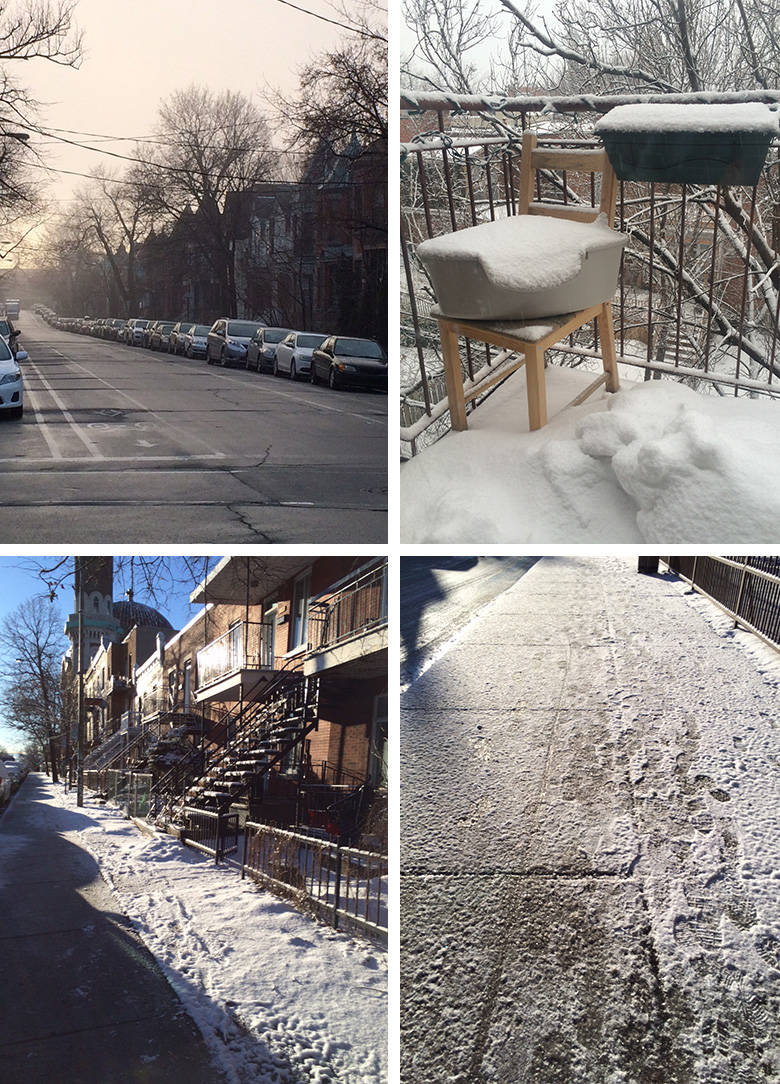 Running Montréal en mars